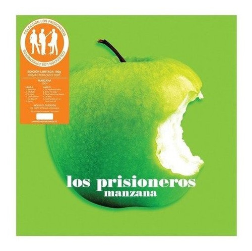 los prisioneros manzana vinilo musicovinyl