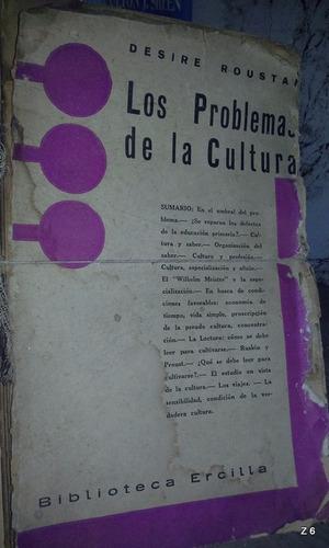 los problemas de la cultura