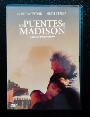 los puentes de madison. dvd original.