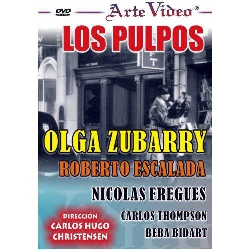 los pulpos - olga zubarry - roberto escalada - dvd original