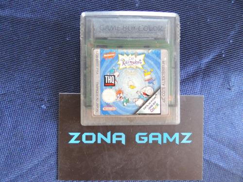 los razmoket nintendo gameboy color zonagamz