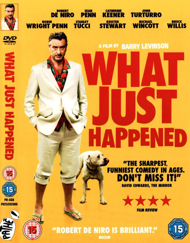 los realizadores - what just happened - blu ray