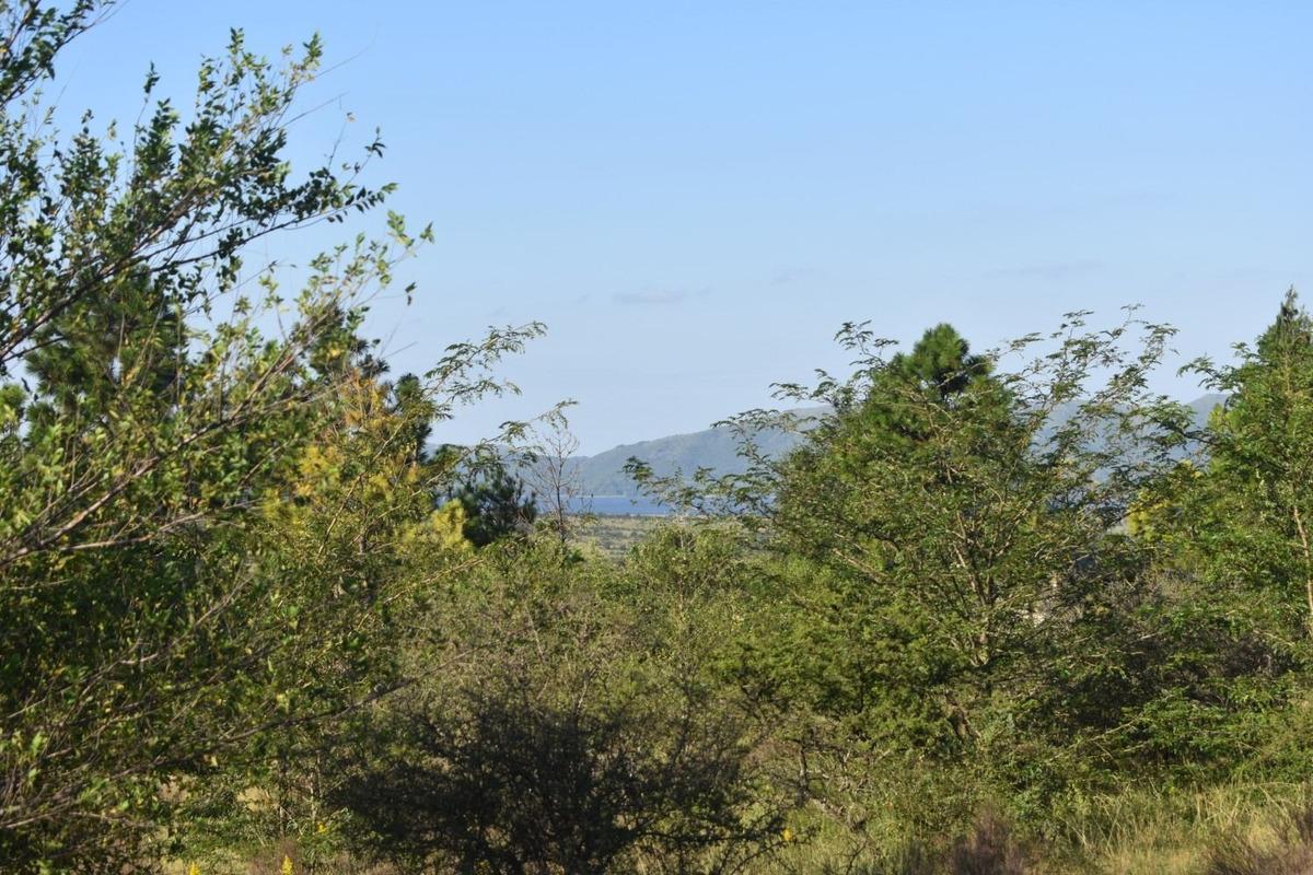los reartes, fracción 1ha 1630m vista al lago