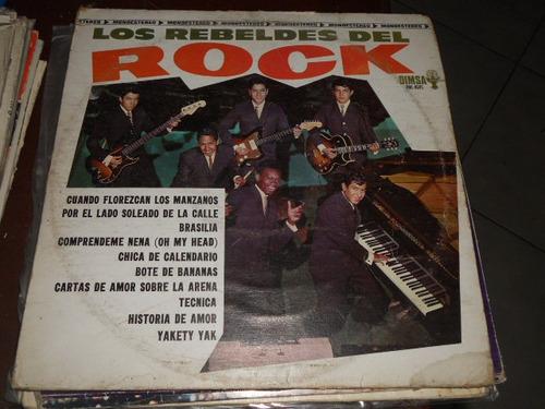 los rebeldes del rock disco de vinyl 12 pulgadas cuando flor