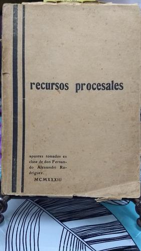 los recursos procesales // clemente perez