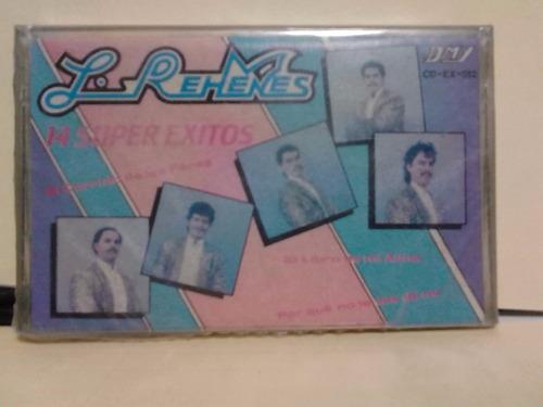 los rehenes - 14 super exitos (casete original)