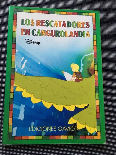 los rescatadores en cangurolandia (disney) - ed. gaviota
