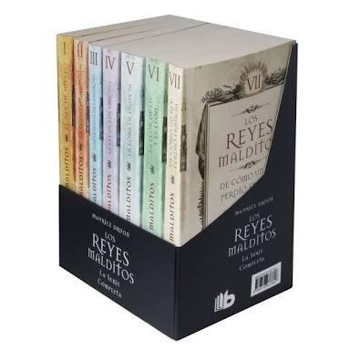 los reyes malditos serie completa paquete c/7 libros