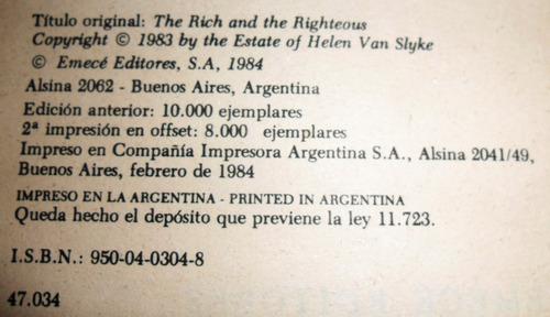 los ricos y los virtuosos / helen van slyke