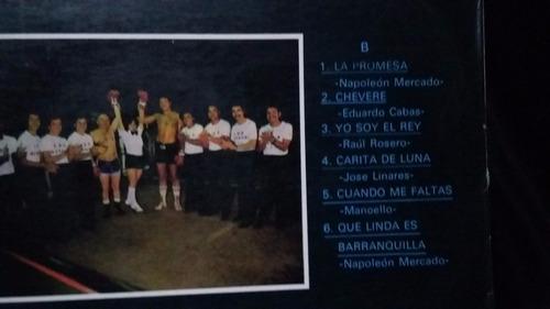 los rivales napelao diomedes diaz lp vinilo cumbia