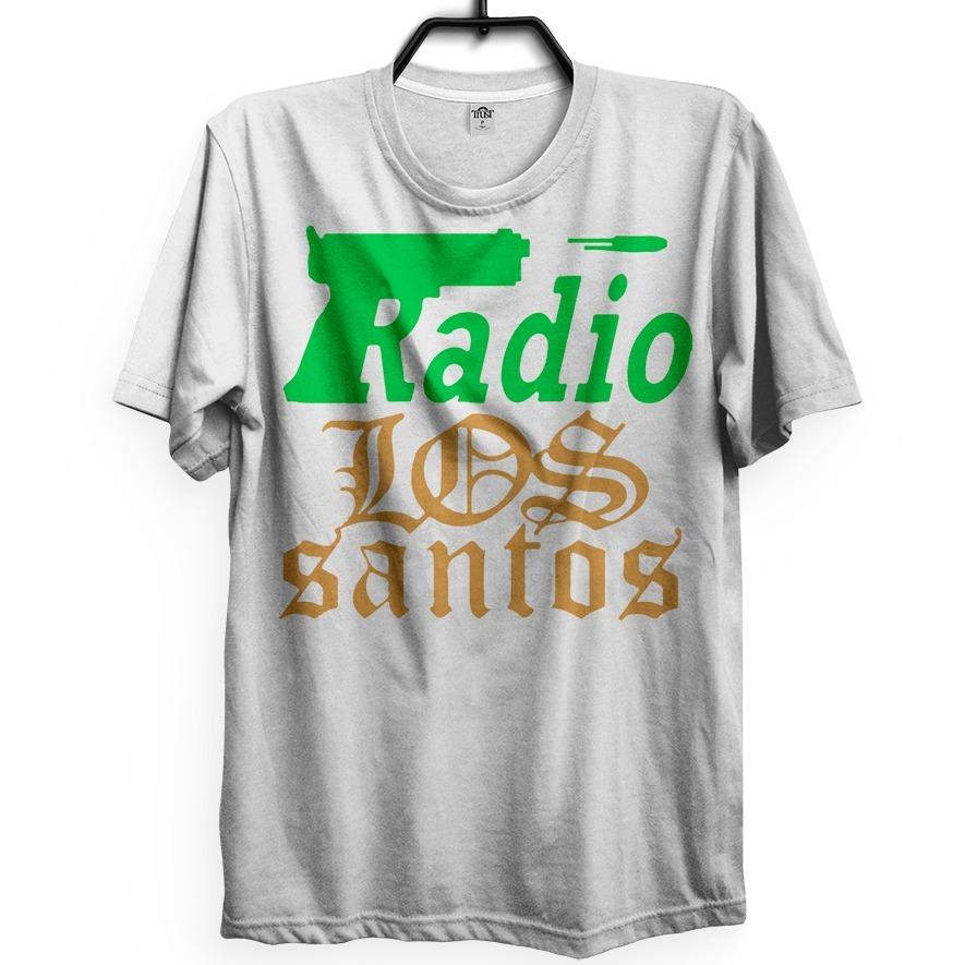 Los Santos Camiseta Radio Los Santos Mod San Andreas Rap Sp