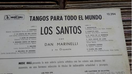 los santos con dan marinelli tangos para todo el mundo