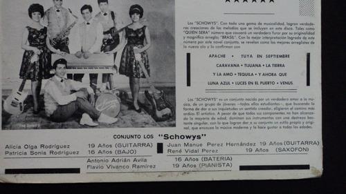 los schowys lp perfecto estado rock instrumental mexicano