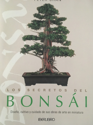 los secretos del bonsai (en papel) peter chan