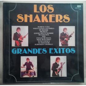 Los Shakers - Lp Importado Grandes Exitos