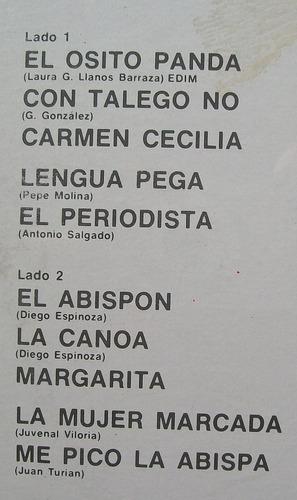 los siete latinos. la cumbia del pandita. disco l.p. sellado
