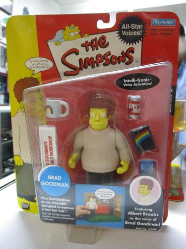 los simpson figura de accion brad goodman marca playmates
