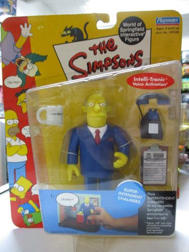 los simpson figura de accion superintendente chalmers