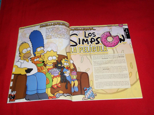 los simpson revistas