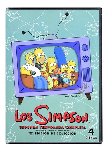 los simpson temporadas 1 2 3 4 5 6 7 8 9 10 11 12 dvd