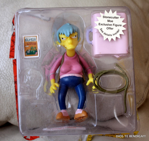 los simpsons ms botz figura