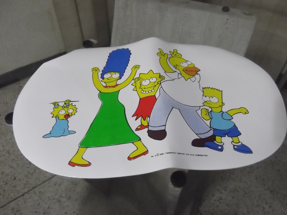 Los Simpsons Set 3 De Manteles Individuales Originales Bs 30000