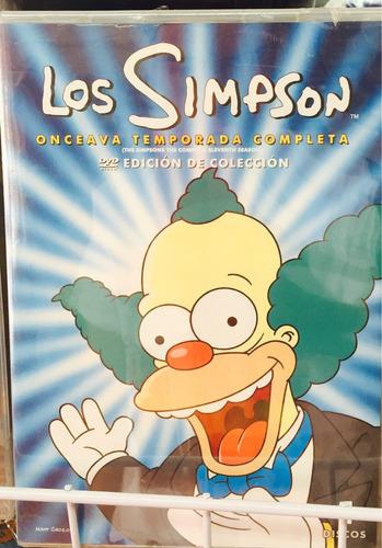 los simpsons temporada 11 once en dvd