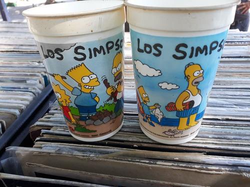 los simpsons vasos pepsi originalrs