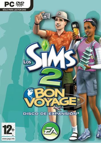 los sims 2 bon voyage expansion juego pc fisico original