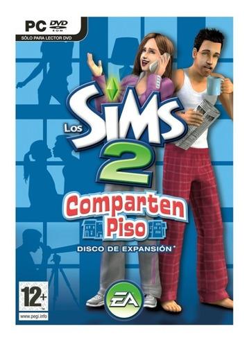 los sims 2 comparten piso juego pc original fisico