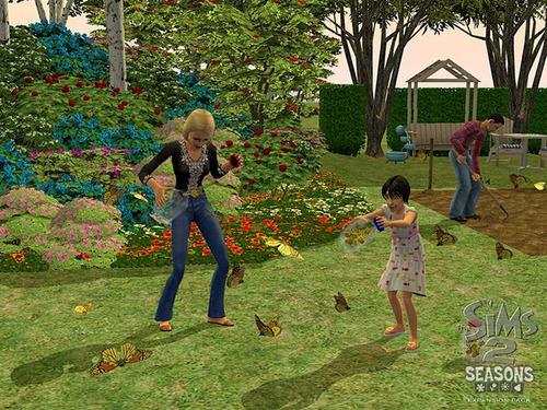 los sims 2 cuatro 4 estaciones expansion juego pc original