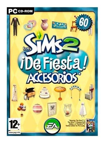 los sims 2 de fiesta juego pc original fisico cd box