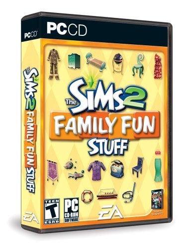 los sims 2 familia fun stuff - pc