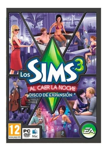 los sims 3 al caer la noche expansion juego pc original caja