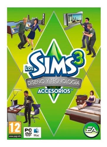 los sims 3 diseño y tecnolologia juego pc original fisico