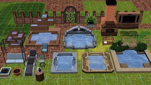 los sims 3 parques y jardines juego pc original fisico