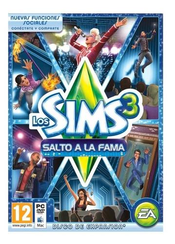 los sims 3 salto a la fama expansion juego pc original caja