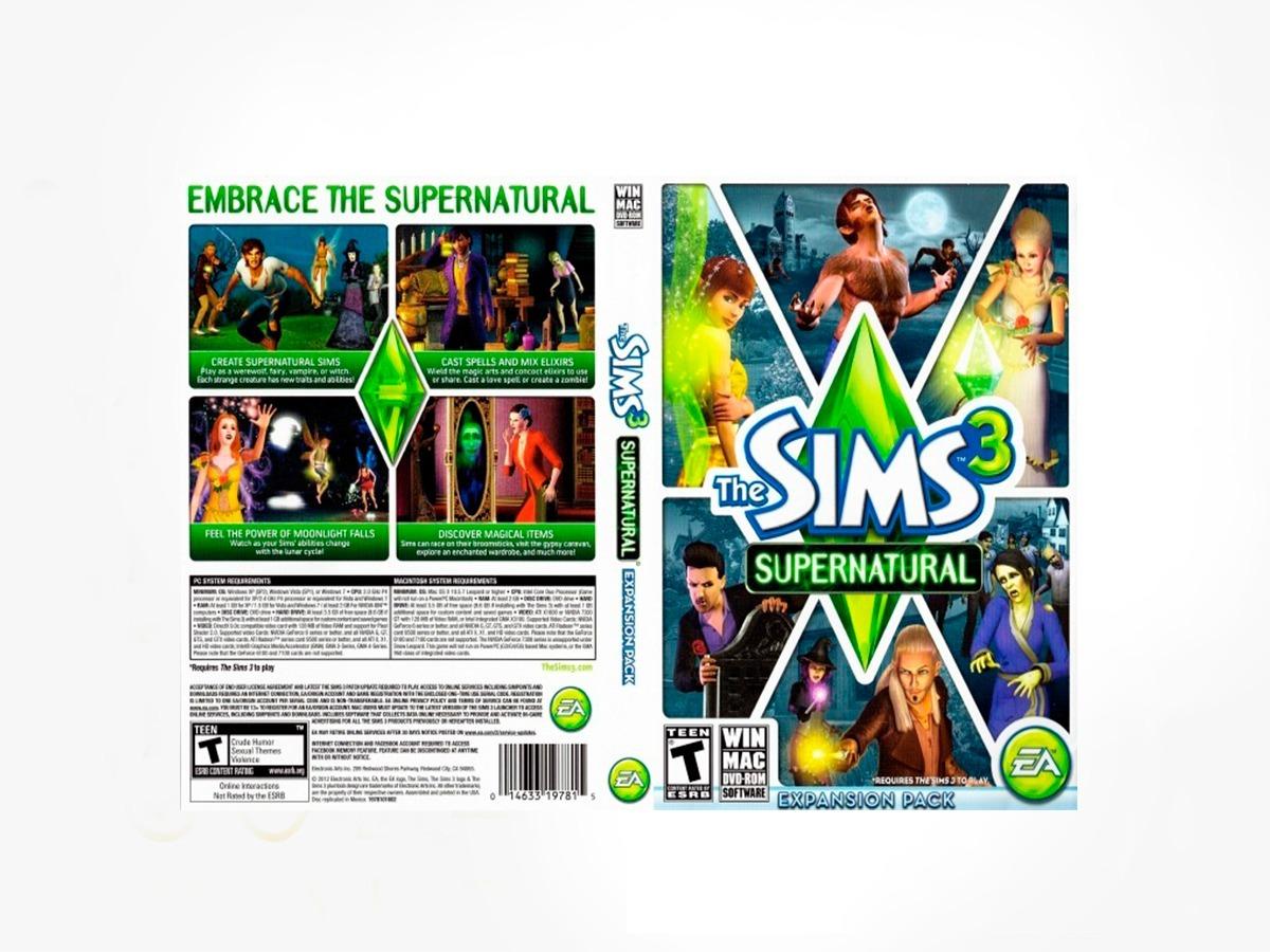 Los Sims 3 Supernatural Pc - Origin Key - Entrega Inmediata
