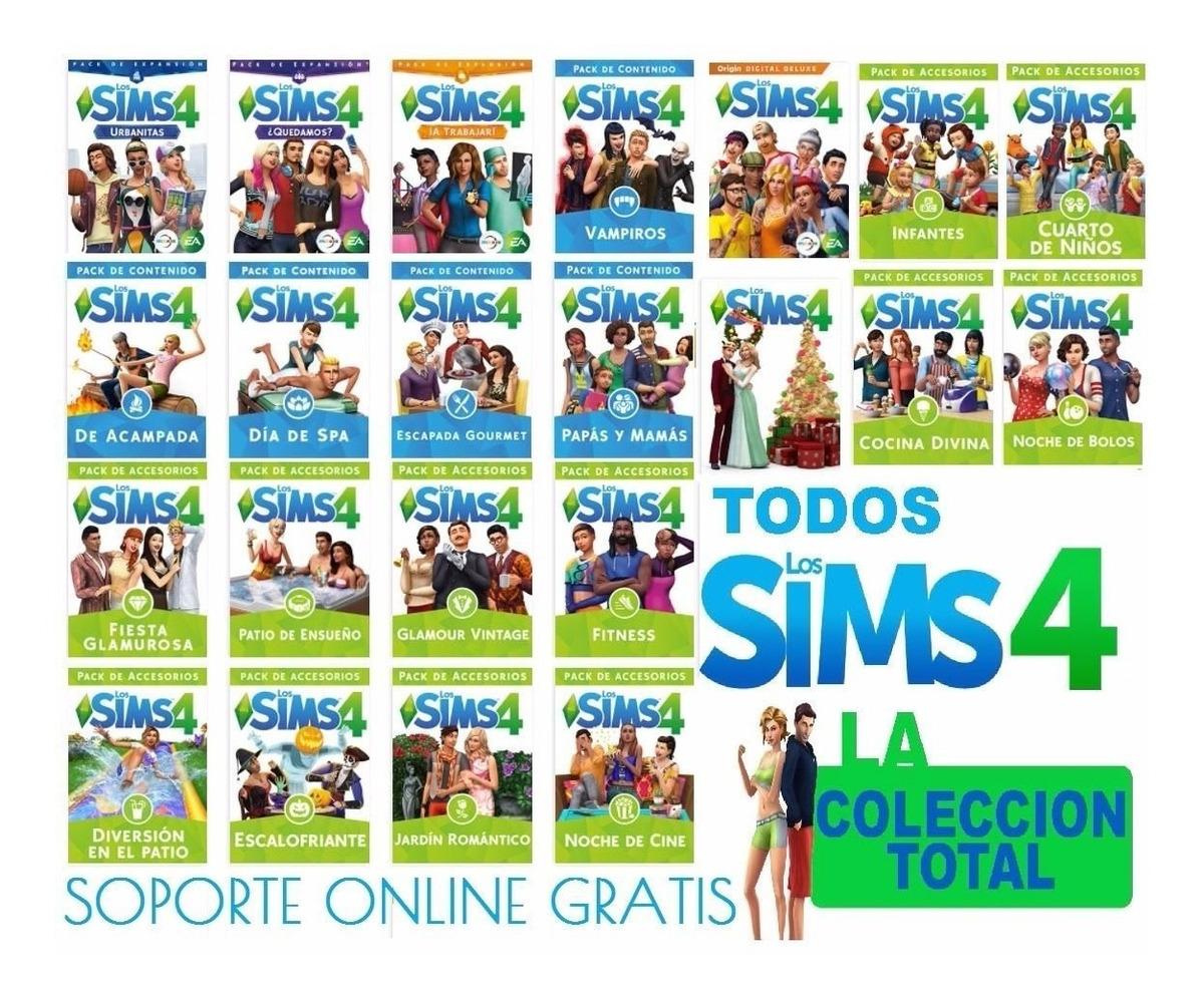 Los Sims 4 2019 + Todas Expansiones Pc Y Mac Leer Dscripcion