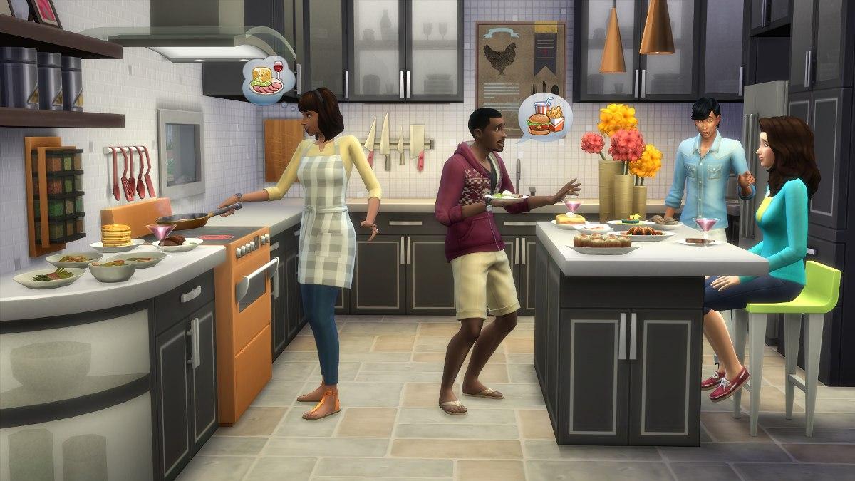 Simulador Cocina | Los Sims 4 Divina Cocina Juego Pc Origin Digital Simulador 150