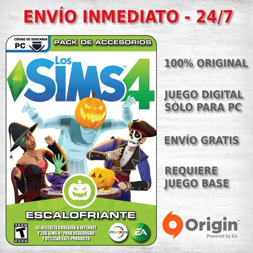 los sims 4 escalofriante juegos pc originales expansion