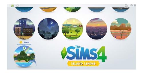 los sims 4 + expansiones + vida isleña 1.52.100