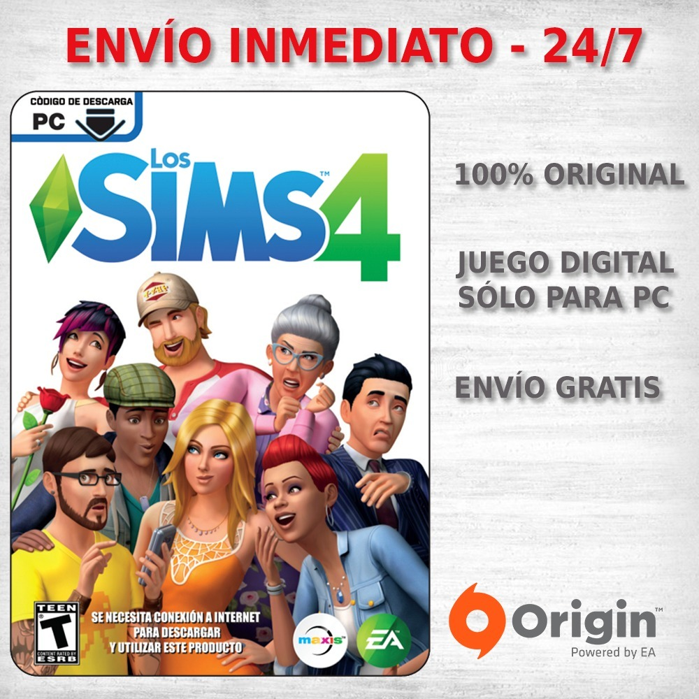 descargar los sims 4 sin origin gratis