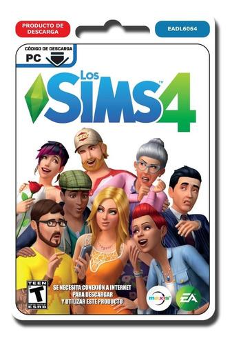 los sims 4 juegos pc originales digital origin juego base