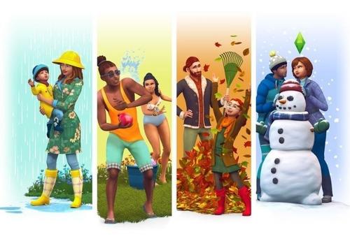 los sims 4 las cuatro estaciones juego pc origin digital