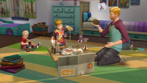 los sims 4 papas y mamas parenthood juego pc origin expansio