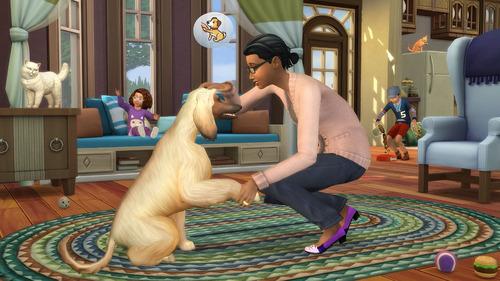 los sims 4 perros y gatos juego pc original expansion