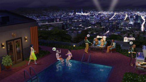los sims 4 rumbo a la fama expansion original pc origin
