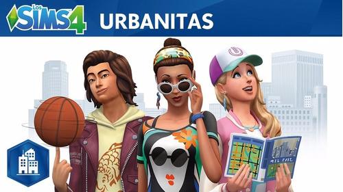 los sims 4 urbanitas city living juego pc originales origin