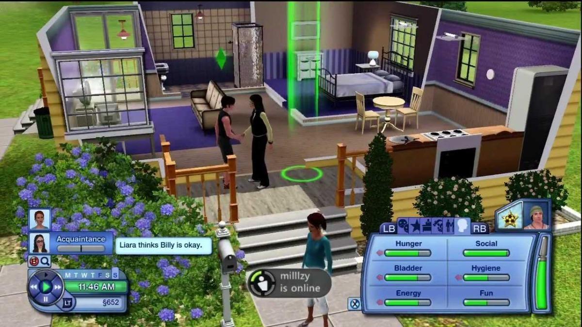 Envio Gratis Los Sims 3 Tres Juego Xbox 360 The Sims 3 - $ 55 000